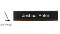 "K210 - 2""x10"" Name Plate and Desk Holder"