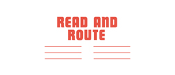 3250 - 3250 READ AND ROUTE